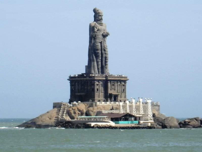 Photo of Thiruvalluvar Statue