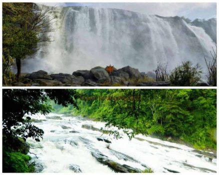 athirapally and vazhachal waterfalls