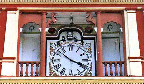 A Historical Clock
