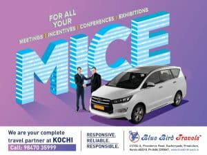 Car Rental Partner for MICE at Kochi
