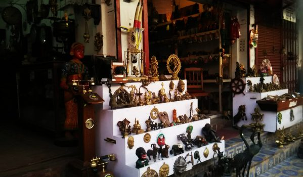 Handicrafts shop in Jew Town