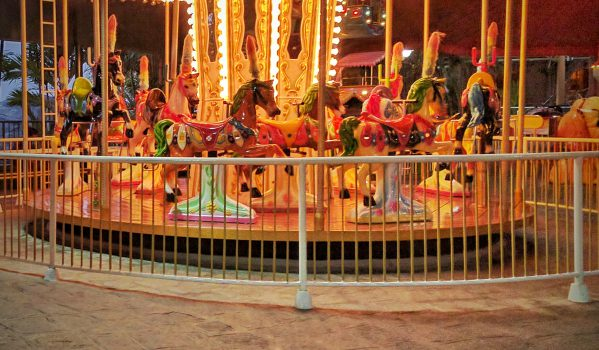 Various Kids rides at Wonderla Kochi