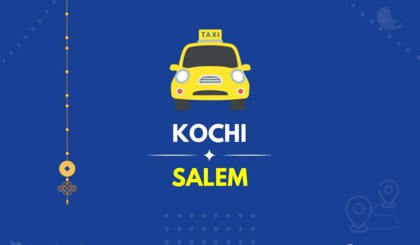 Kochi to Salem Taxi 2