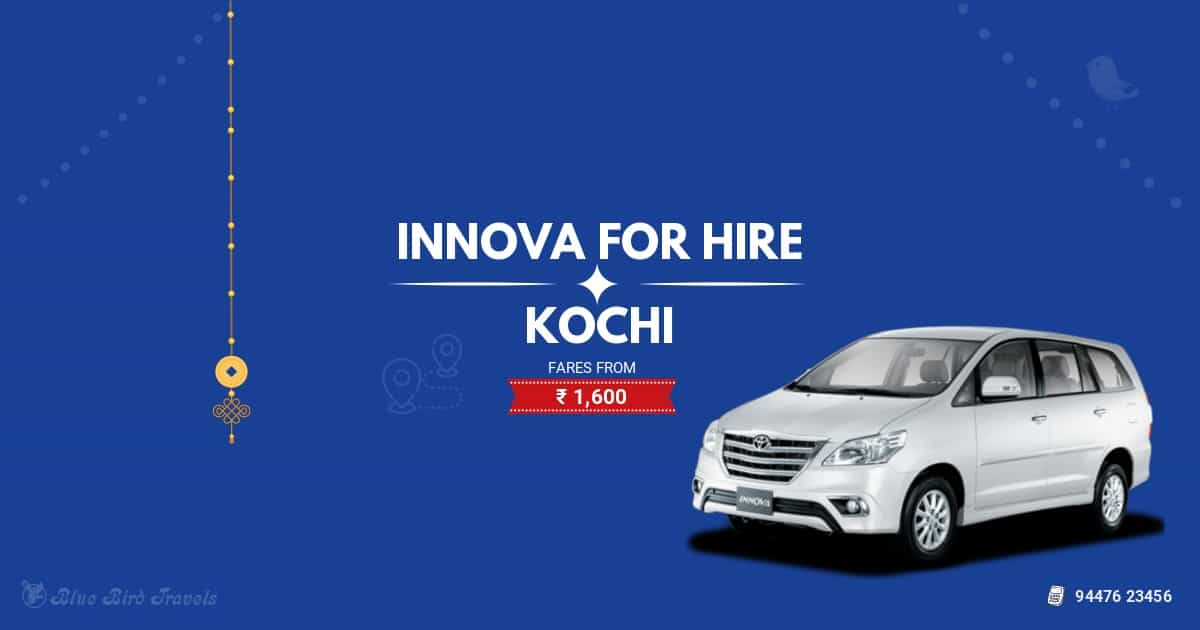 Innova car rental for outstation at Kochi 2