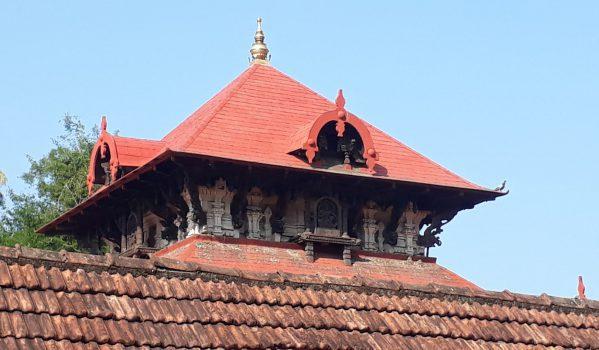 Architecture of Kadathuruthy Temple