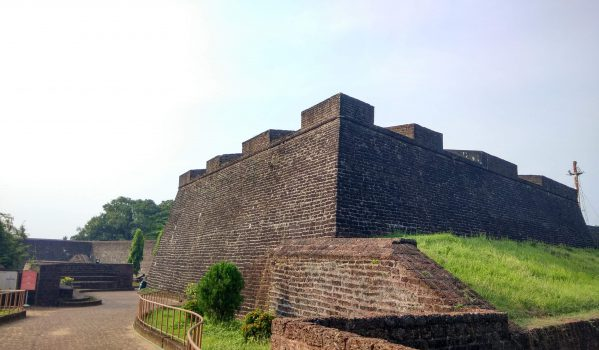 Panoramic view of fort