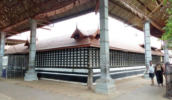 Structure of Chottanikkara Temple